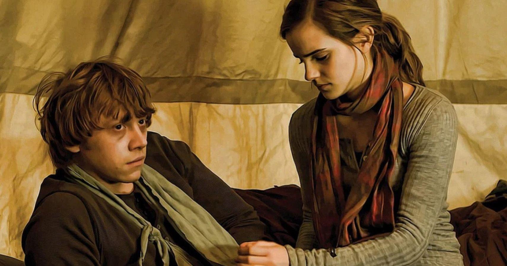 Кадр из фильма Гарри Поттер и Дары смерти