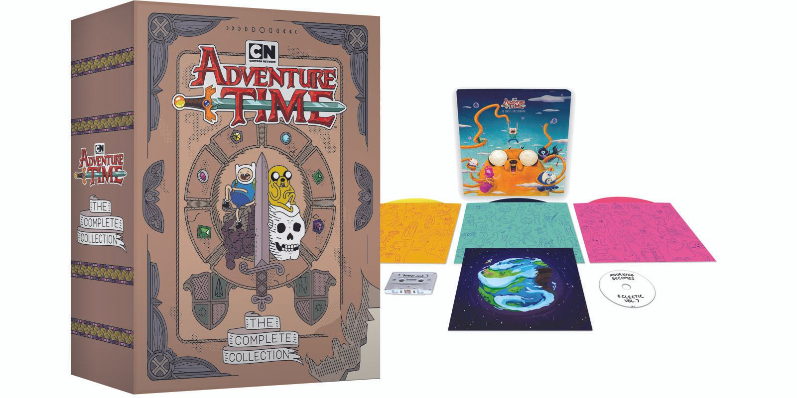 Adventure Time Complete Series Box Set Soundtrack
