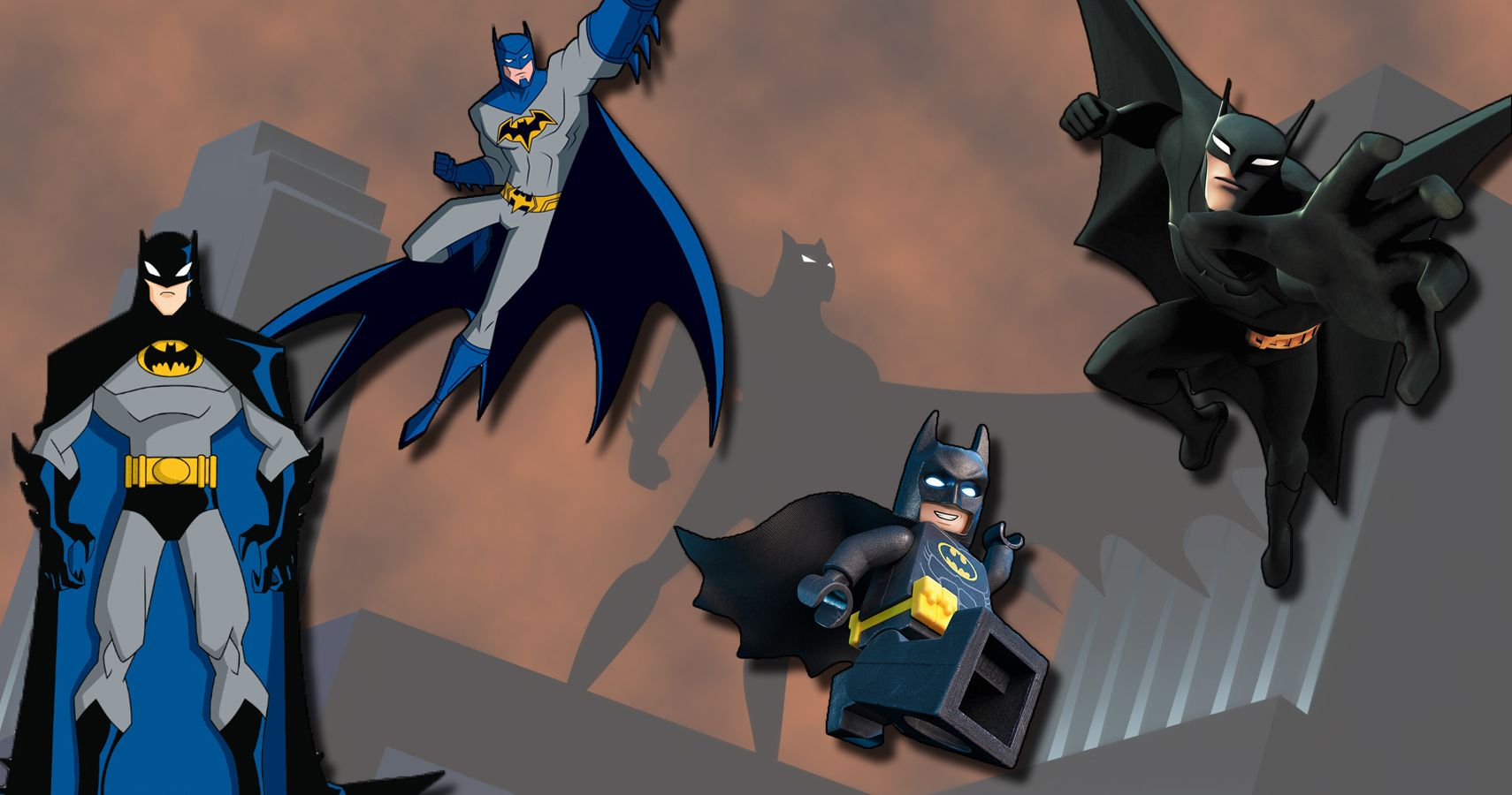 Every Animated Version of Batman, Ranked