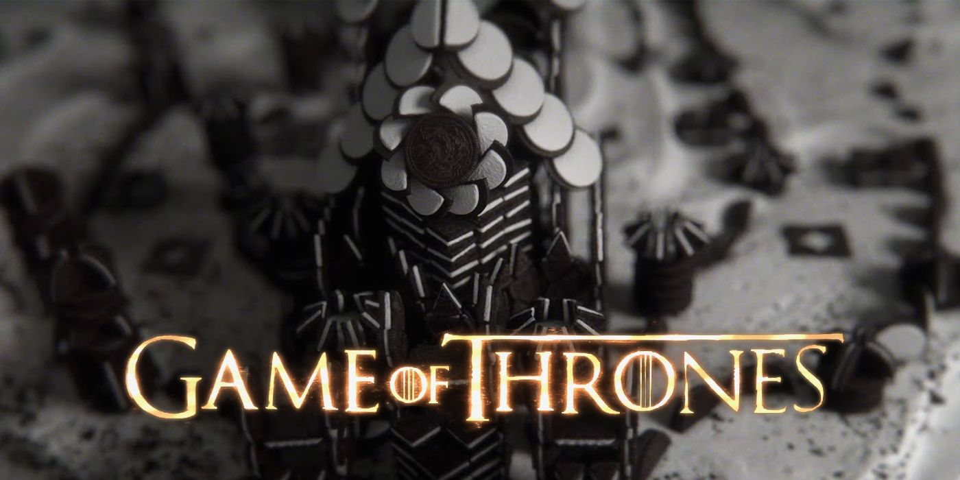 Game of Thrones Oreo Reveal Recreates Show's Epic Title Sequence