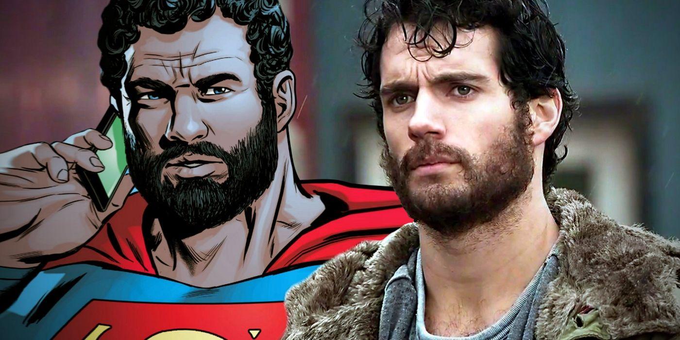 How Superman Actually Cuts His Invincible Hair & Beard