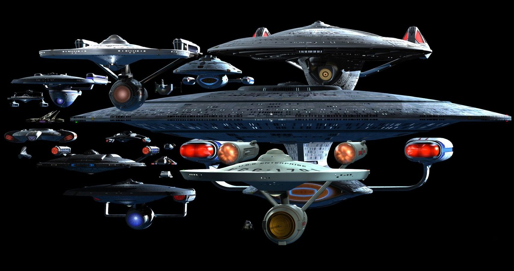 Star Trek: The 15 Fastest Ships In The Federation