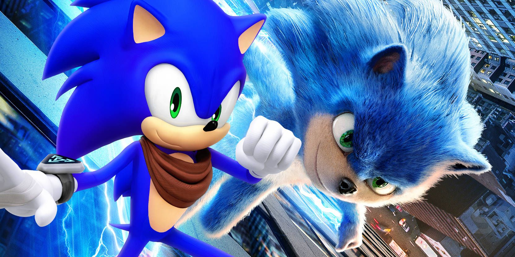 Sonic The Hedgehog Movie Standee May Reveal Character S Improved Redesign
