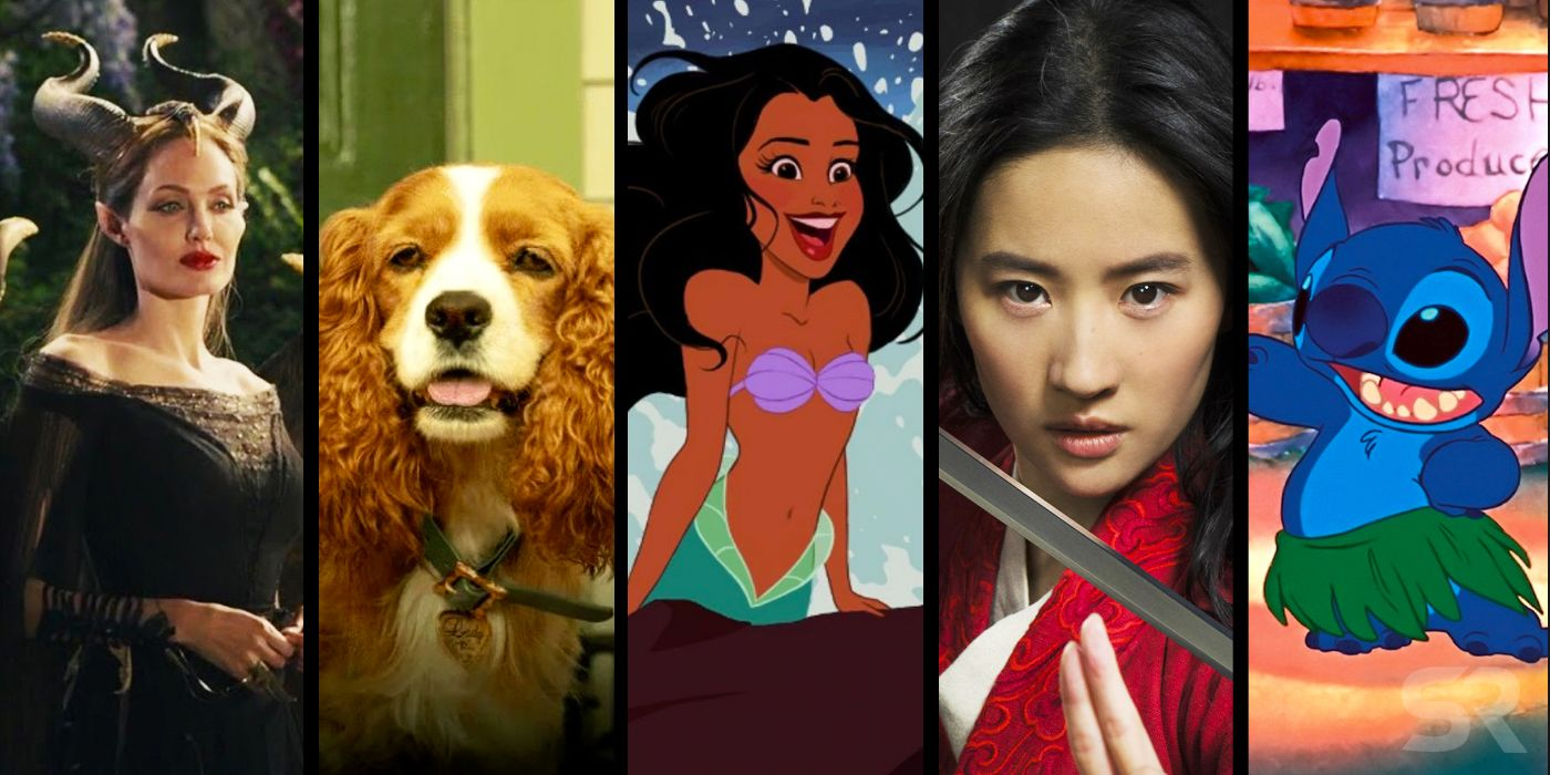 Upcoming Disney Live-Action Movies: All 15 Remakes In
