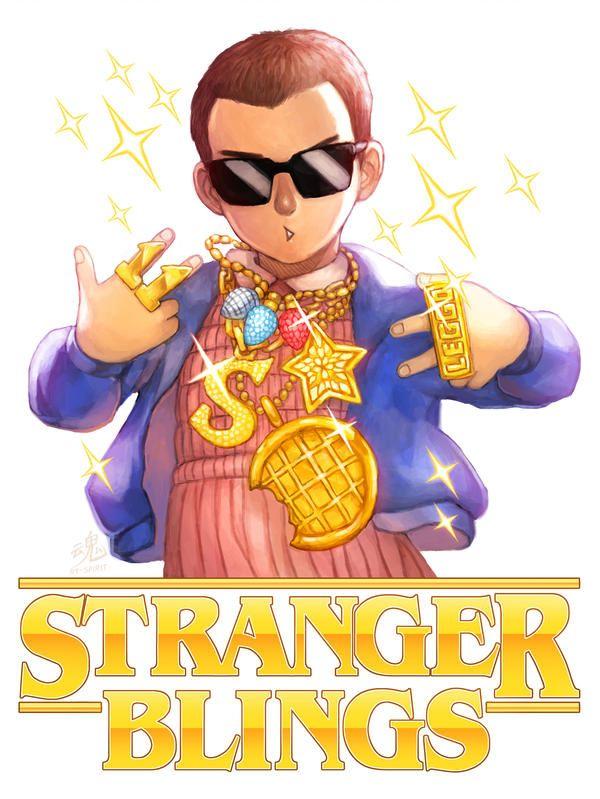 Stranger Blings   La Boutique Stranger Things