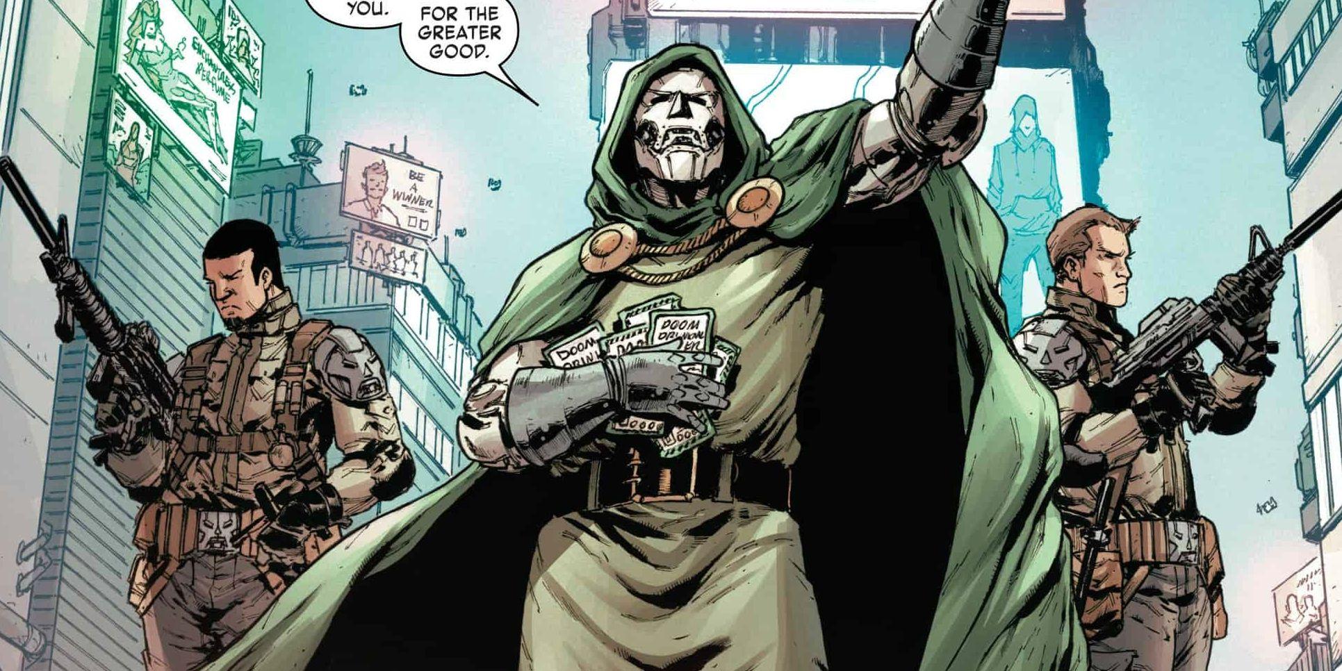 Marvel & Noah Hawley Still Discussing His Doctor Doom Movie