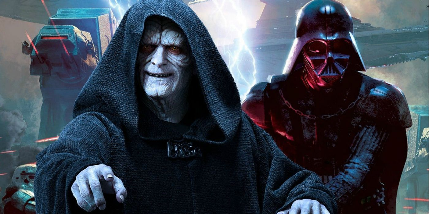 Darth Vader Kneels Before Palpatine in New Star Wars Cover