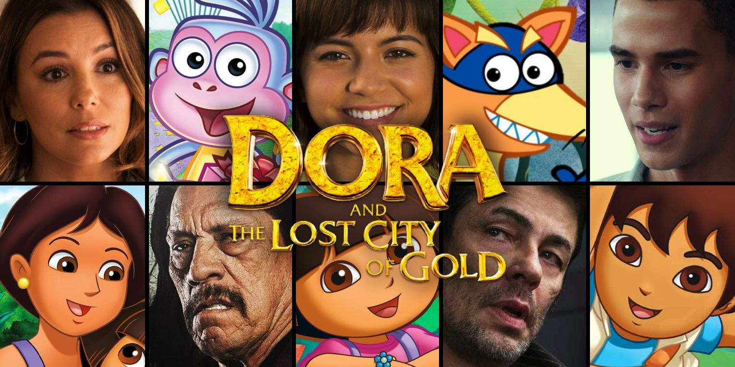 Dora The Explorer Movie Characters How The Cast Compares To