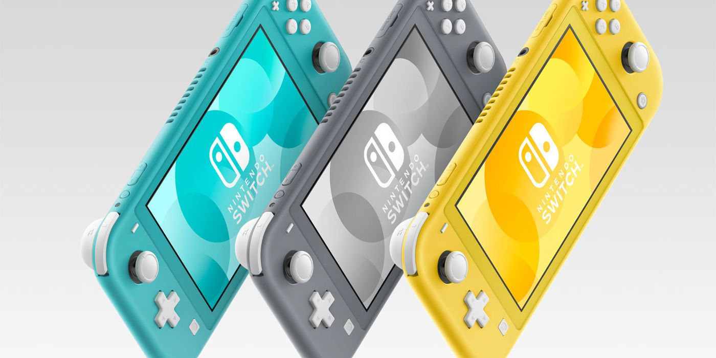 Nintendo Switch Lite Introduced for Handheld Play | ScreenRant