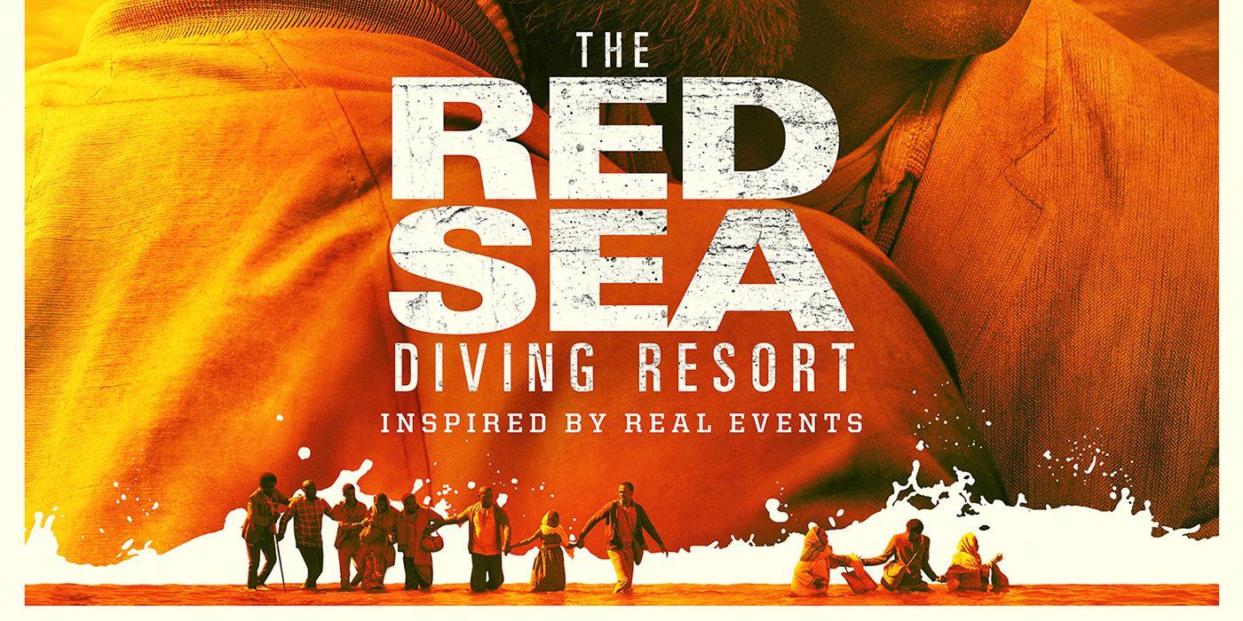 The Red Sea Diving Resort Poster Chris Evans Netflix Movie Art Print