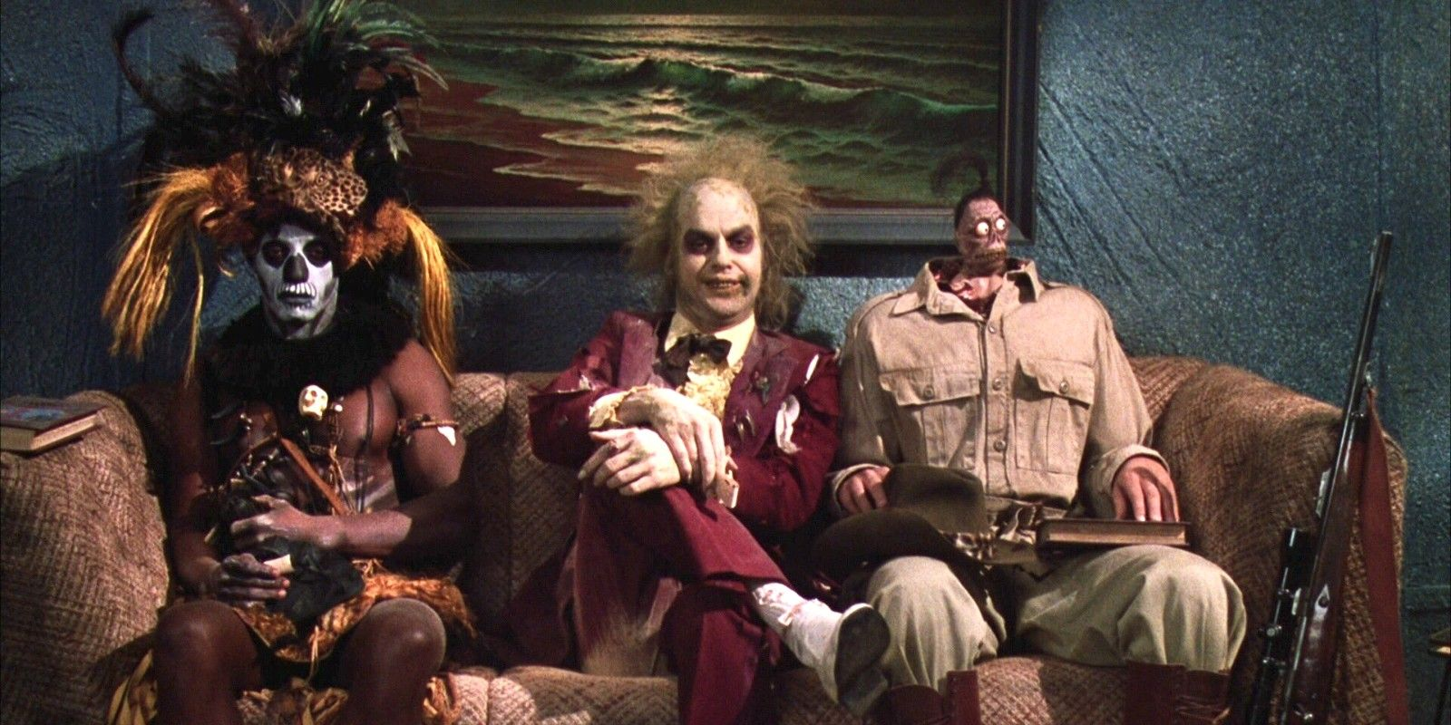Beetlejuice Every Ghost In The Neitherworld Waiting Room