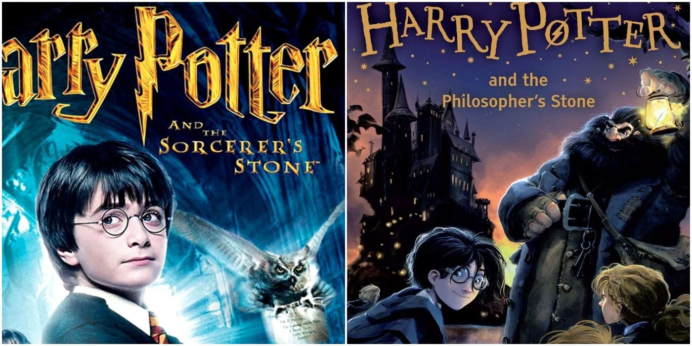 Harry Potter: 10 Differences Between The Sorcerer's Stone And The Philosopher's Stone