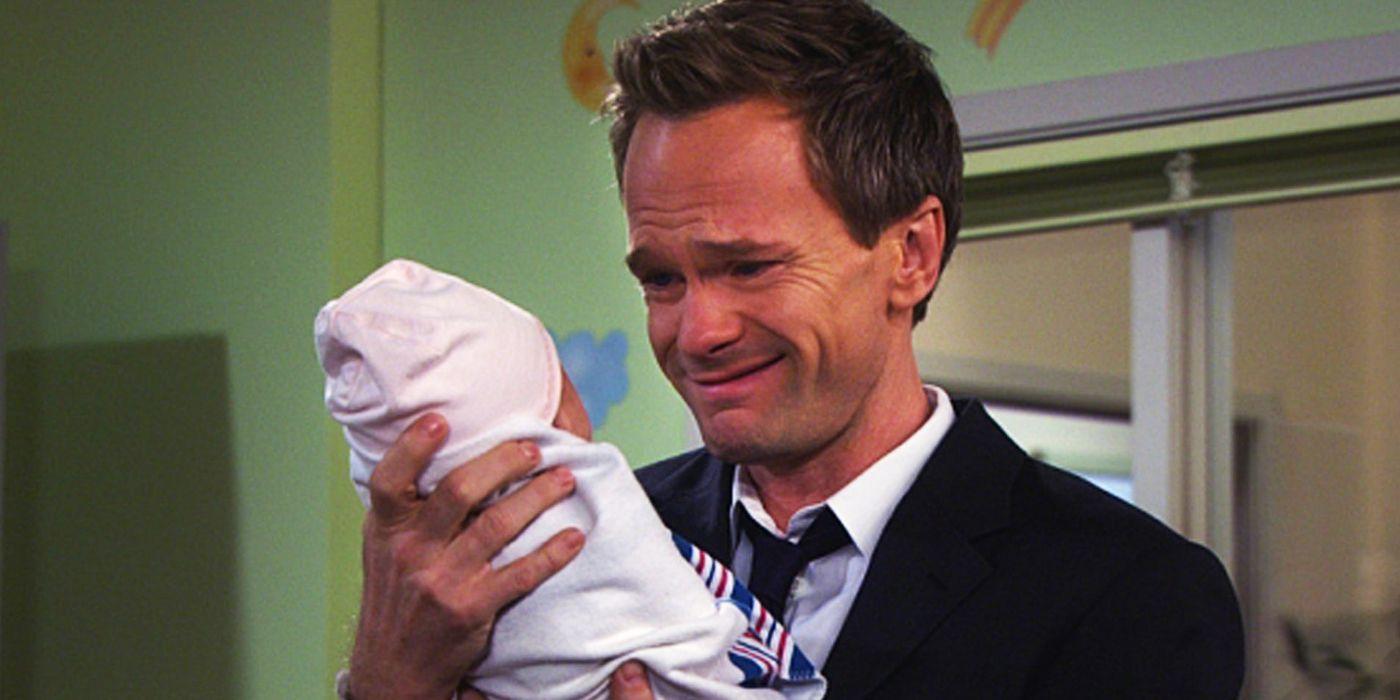 Barney har något att berätta för Robin.
