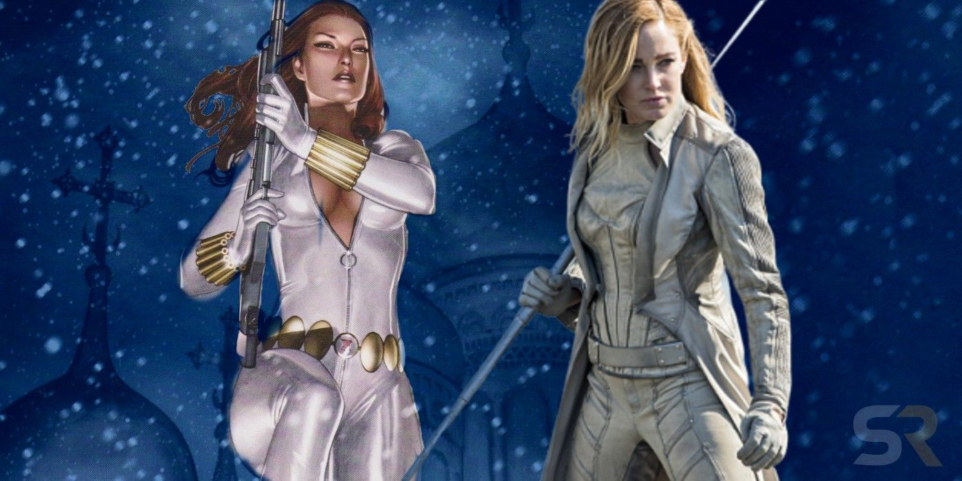 Black Widow S New Costume Seals Her Arrowverse White Canary