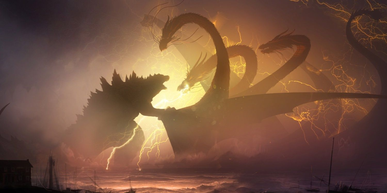 Check Out This Epic Godzilla King Of The Monsters Concept Art