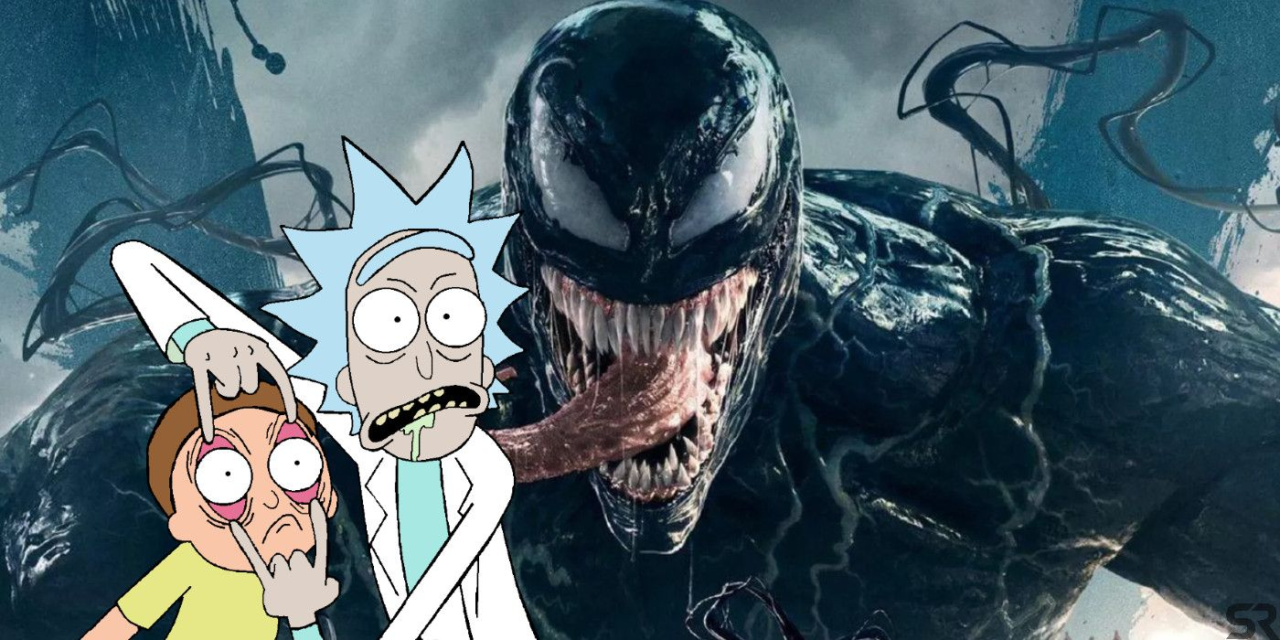 What Rick and Morty's Rick Would Look Like as Venom | Screen Rant