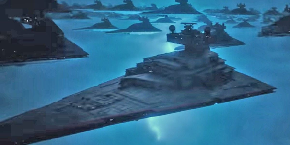 Rise Of Skywalker 10 Theories About That Star Destroyer Scene From D23