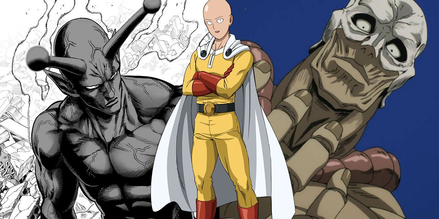 One Punch Man Every Anime Series Parody Reference