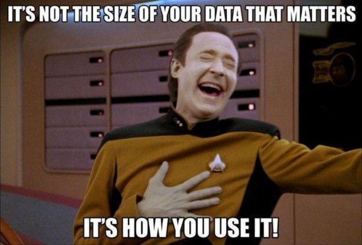 Image result for data star trek meme