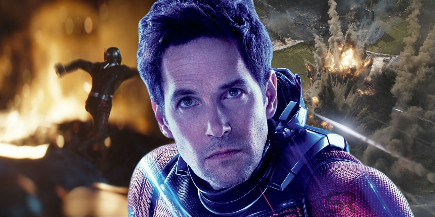 Endgame: How Ant-Man Survived Thanos' Attack At Avengers HQ