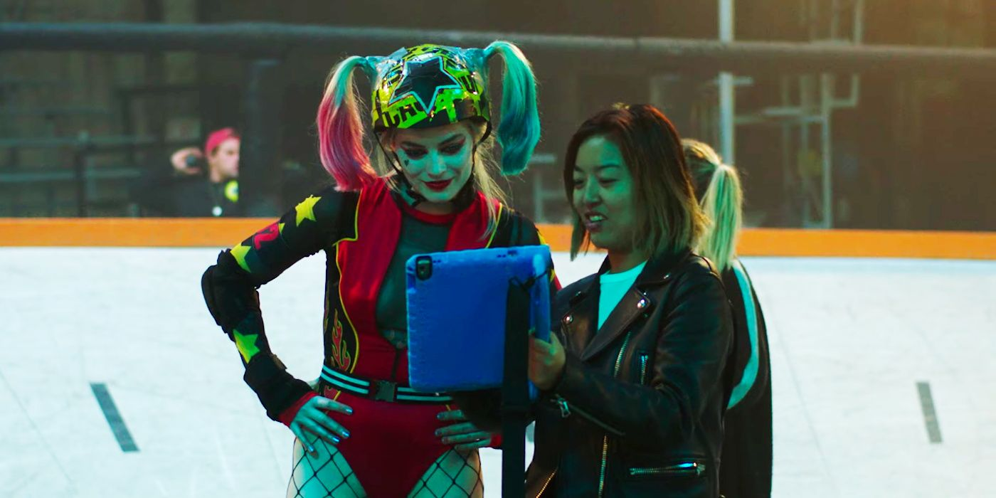 Birds Of Prey Footage Reveals Harley Quinn In Roller Derby Costume