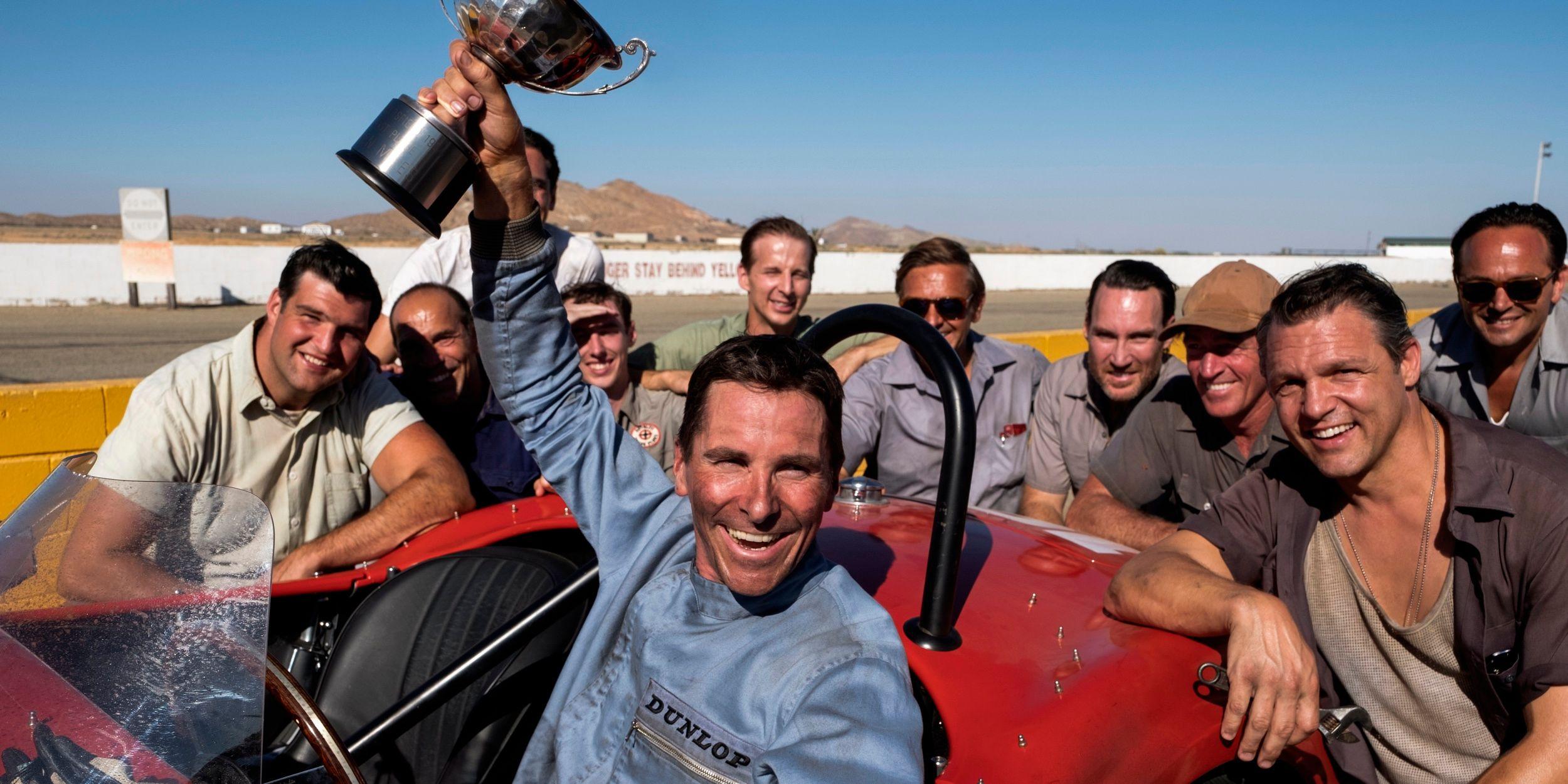 Ford v. Ferrari Movie Trailer: Bale & Damon Try to Win Les Mans