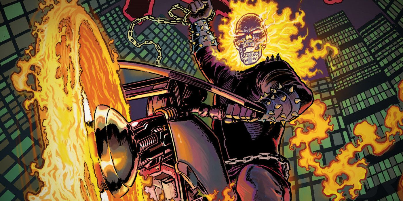 Marvel's GHOST RIDER Family is Back With a Vengeance
