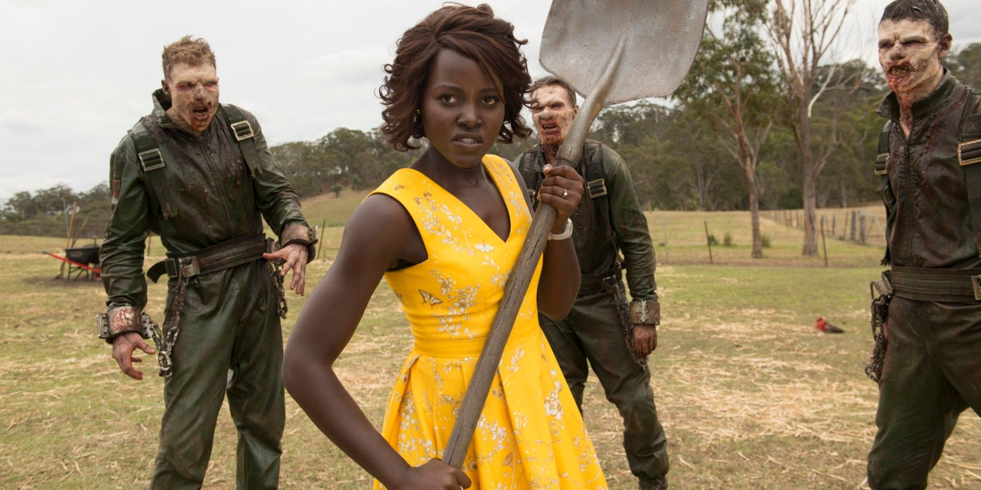 Little Monsters Red Band Trailer: Lupita Nyong'o Versus Zombies