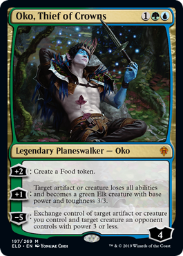 Magic: The Gathering - Oko, Thief of Crowns | Screen Rant
