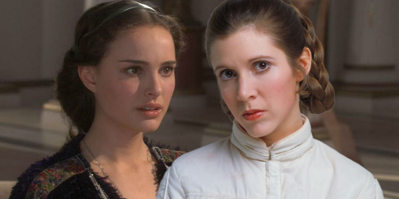 Star Wars Attempts To Fix Leia/Padmé Plot Hole