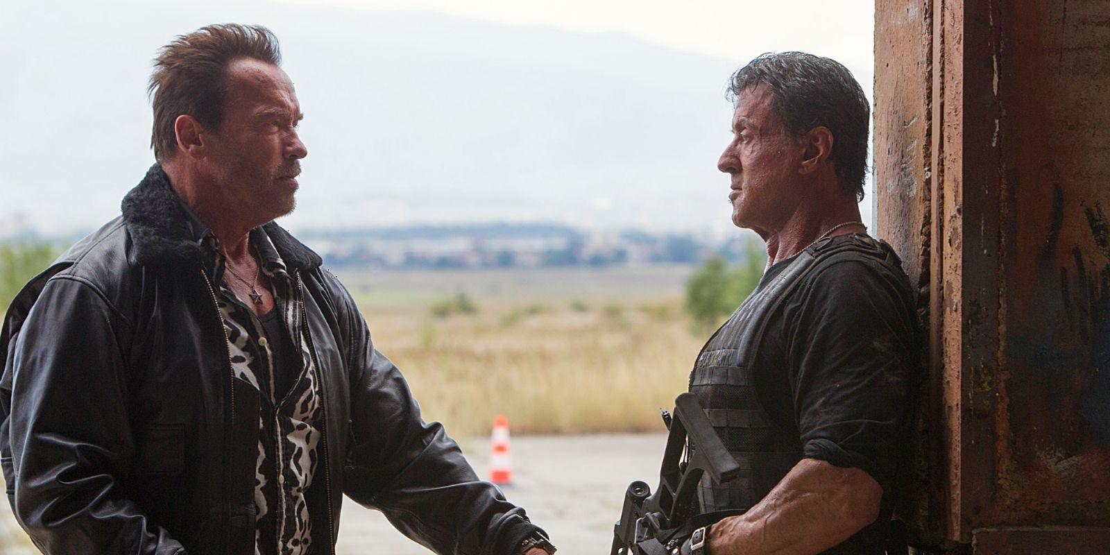 Sylvester Stallone Arnold Schwarzenegger Film
