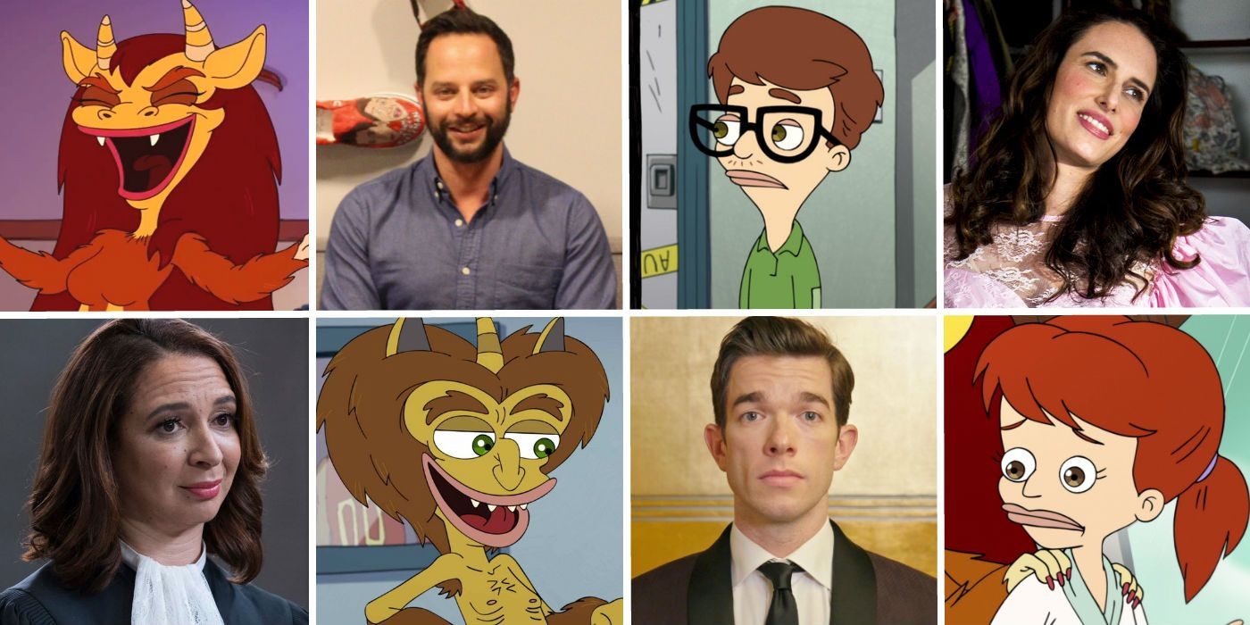 Big Mouth Voice Cast Character Guide Screen Rant