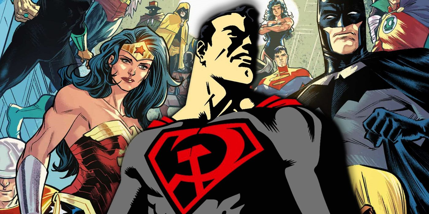 Dc S Justice League Recruits The Red Son Superman Screen Rant