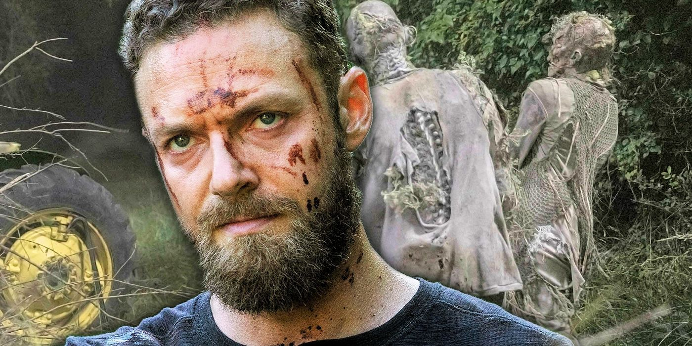 Walking Dead Gives Aaron The Franchises Best Weapon Yet