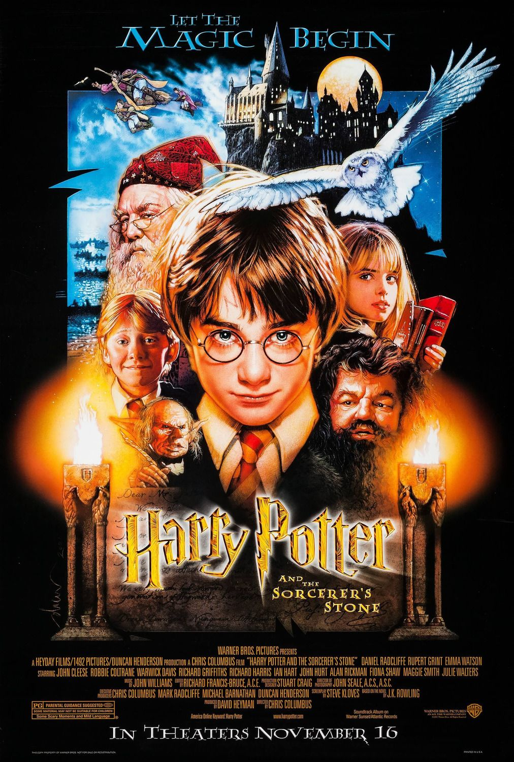 Harry Potter And The Sorcerer S Stone 2001 Screenrant