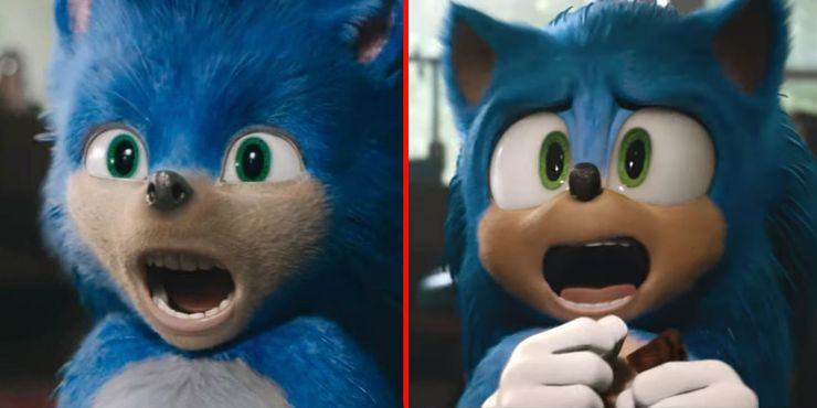 Sonic One Image Shows Just How Much Better The Movie S Redesign Is