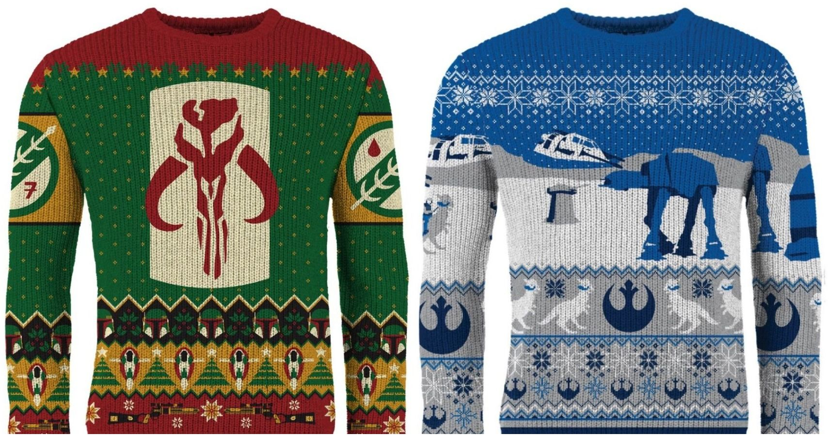 Rock These Nerdy Knitted Christmas Sweaters From Merchoid