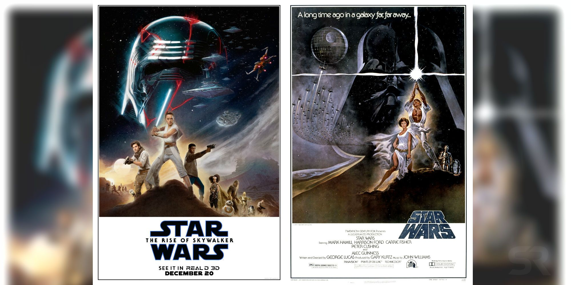 The Rise Of Skywalker Recreates Iconic Star Wars 1977 Poster