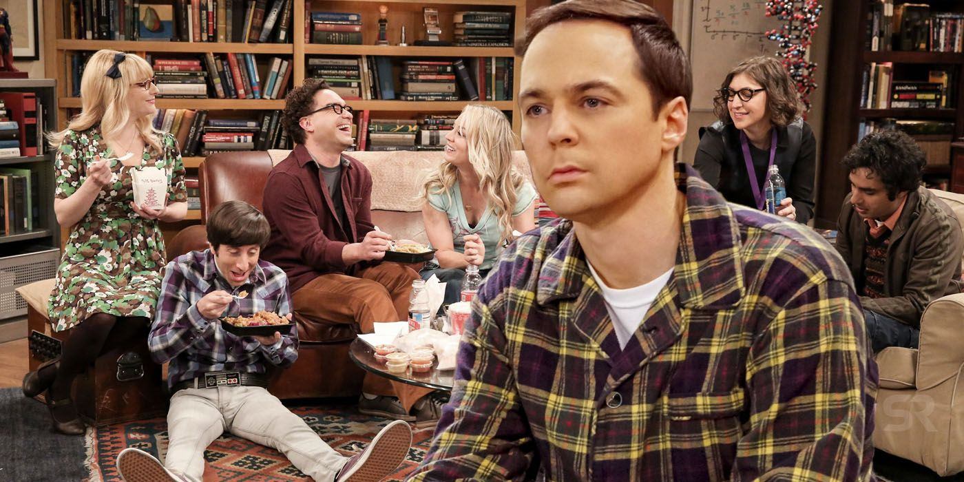 Big Bang Theory Poster Puts Sheldon In The Wrong Couch Spot