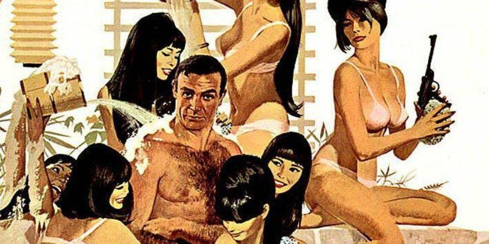 James bond having sex with lucia scene