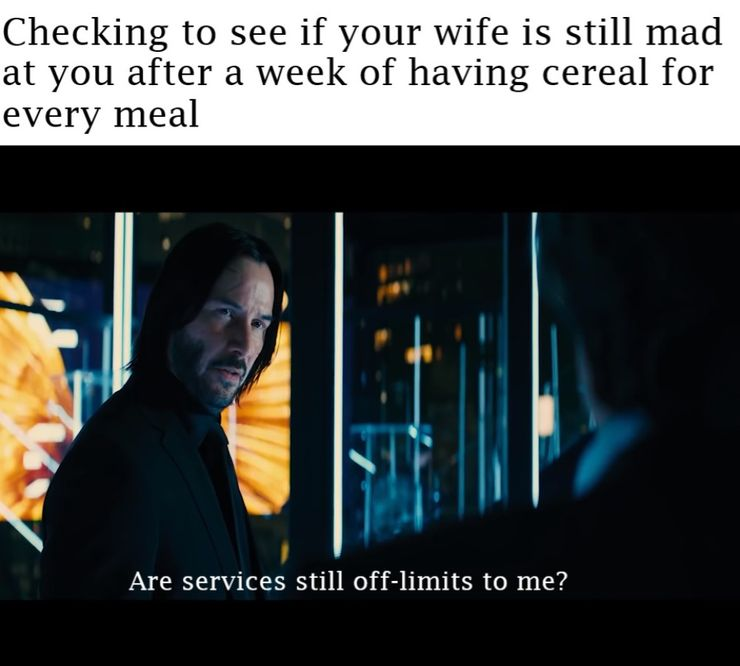 10 John Wick Memes That Are Too Hilarious For Words Screenrant