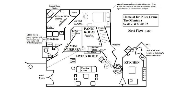 Frasier 10 Hidden Details You Never Noticed About Frasier Niles Apartments