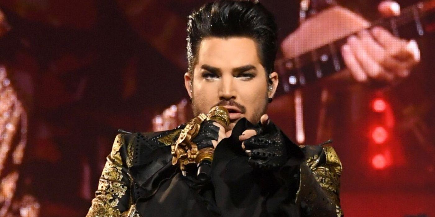 Adam Lambert reveals details on cover band's new show