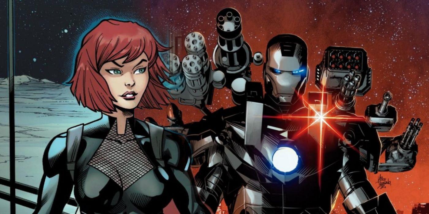 Black Widow Finally Gets Her Own Iron Man Armor Screen Rant