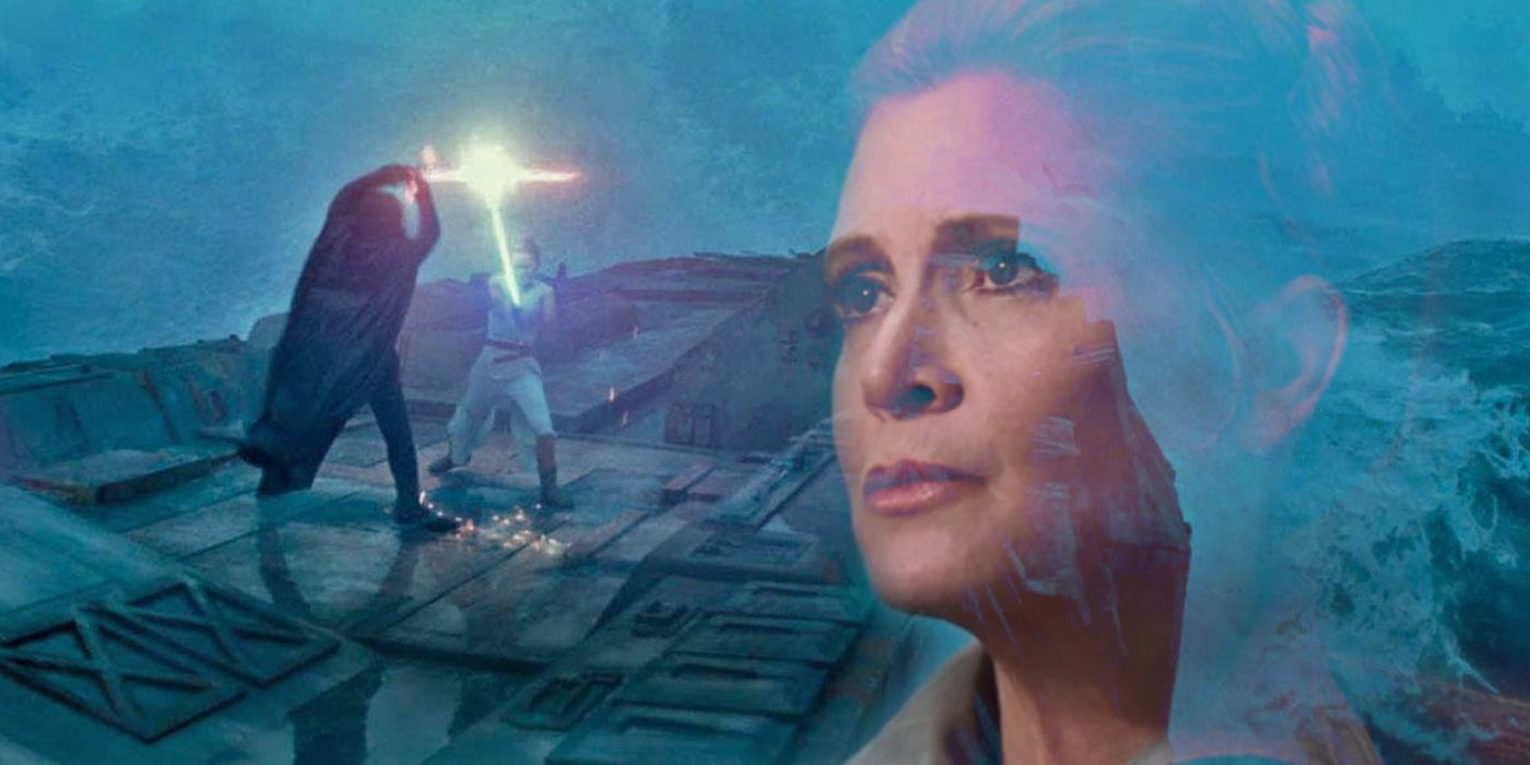 Star Wars Why Leia Only Disappeared After Kylo Ren S Death