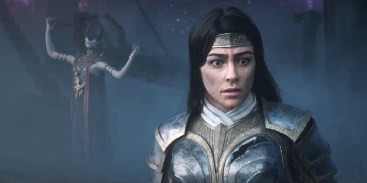 Mtg S Theros Beyond Death Trailer Ashiok Elspeth Reveal