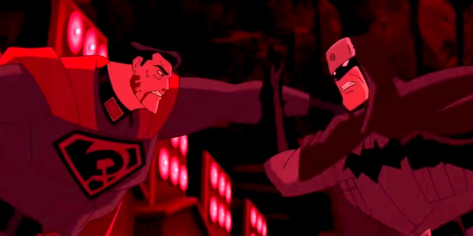 Superman Red Son Trailer Teases Batman V Russian Superman