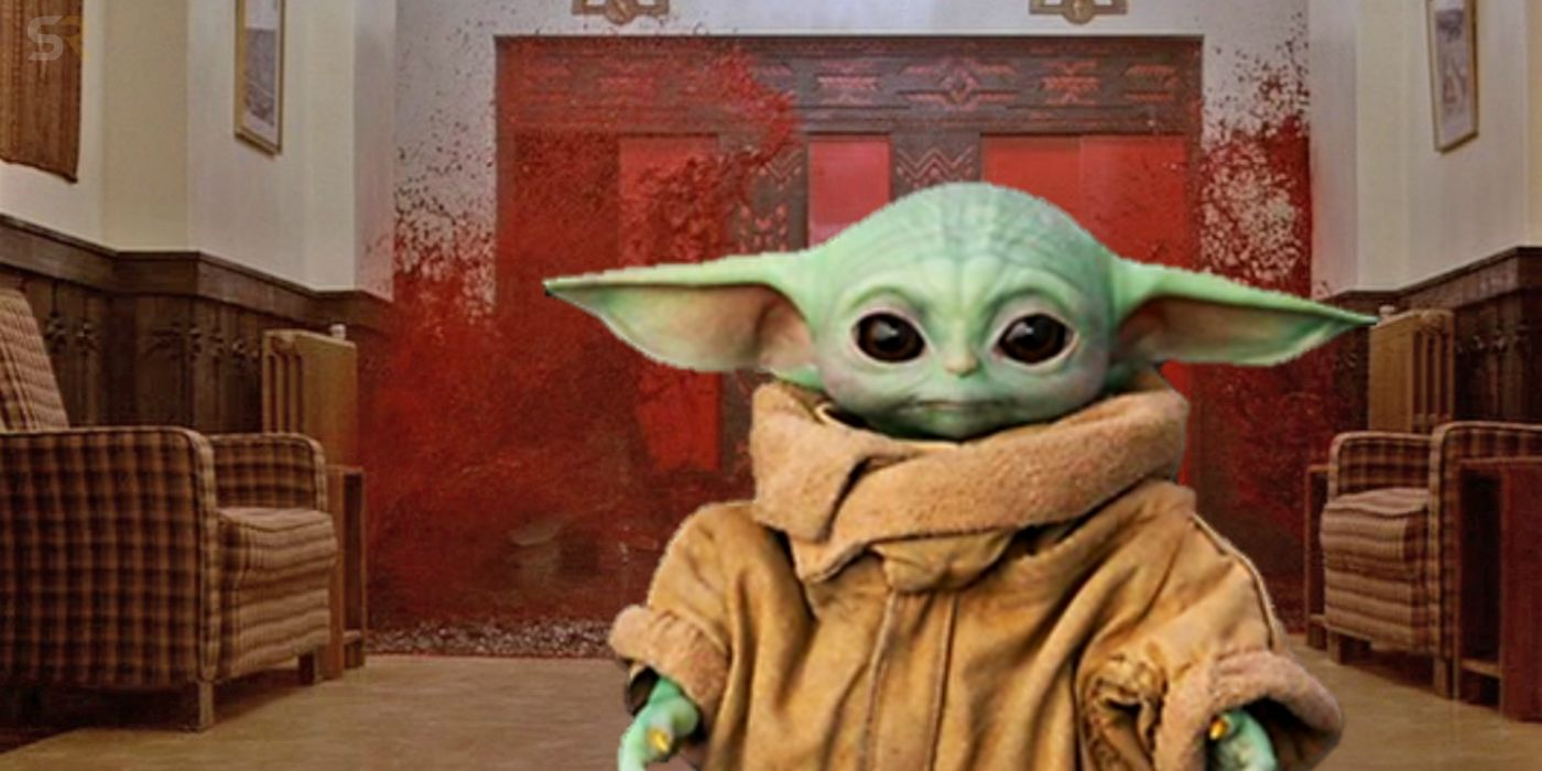 Baby Yoda S Best Memes Cross The Mandalorian With Horror