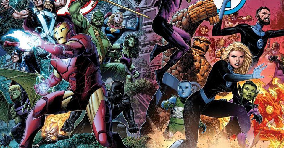A sneak peek into the Marvel universe