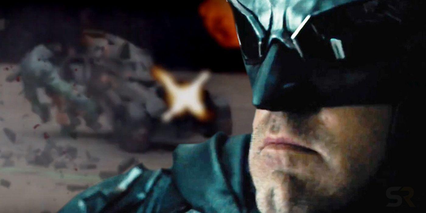 Justice League: Test Snyder Footage Shows Brutal (Toy) Batmobile Action